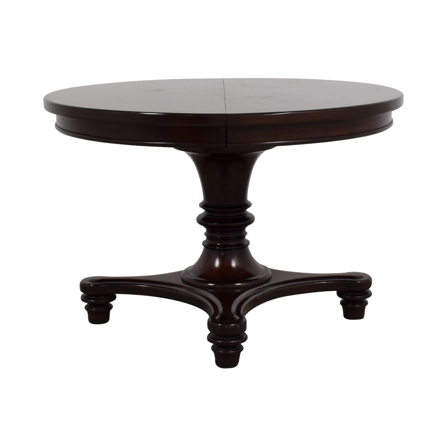 OFF Pottery Barn Pottery Barn Sumner Round Cherry Wood Table - Pottery barn sumner dining table