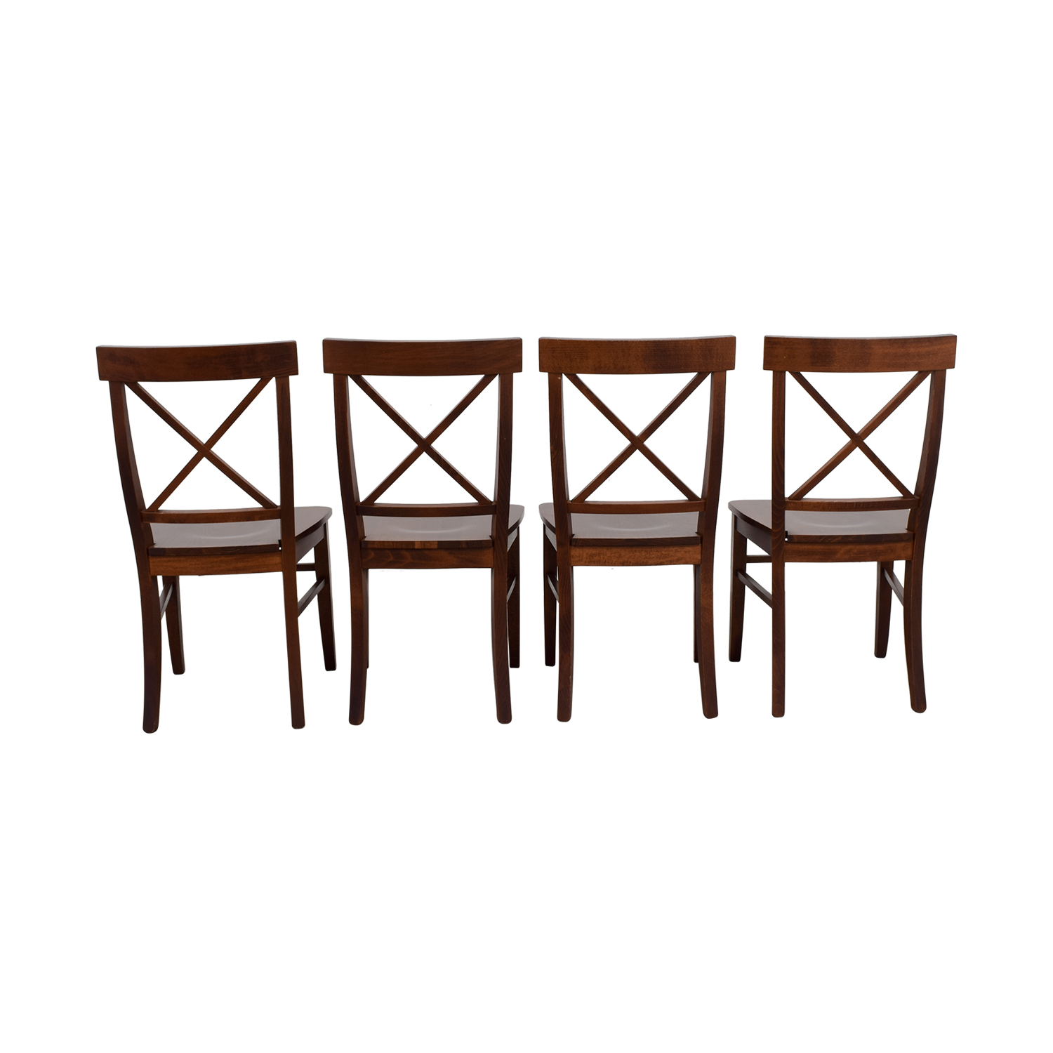 ... Pottery Barn Pottery Barn Aaron Wood Dining Chairs ...