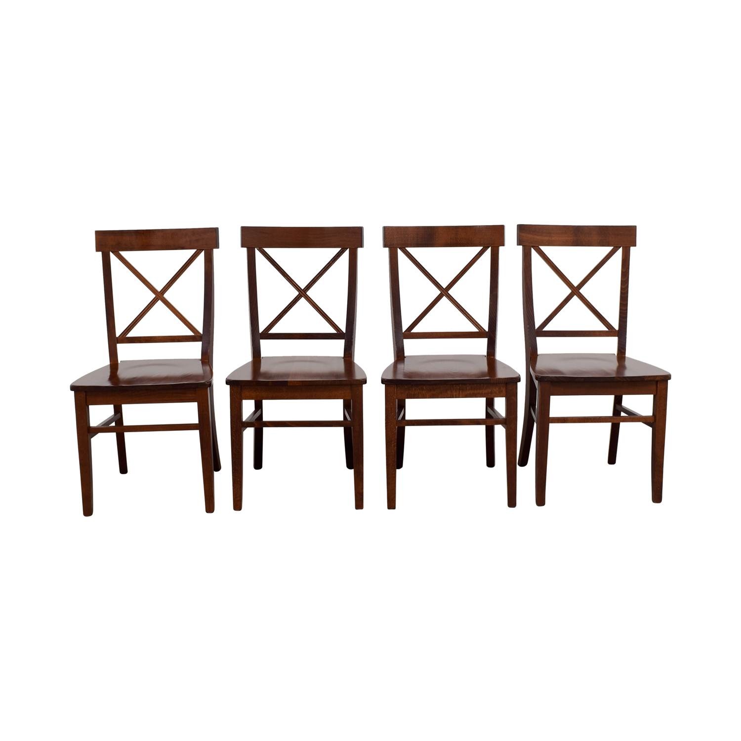 shop Pottery Barn Aaron Wood Dining Chairs Pottery Barn