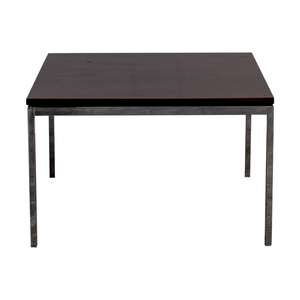 Florence Knoll Florence Knoll Rosewood and Chrome Coffee Table discount