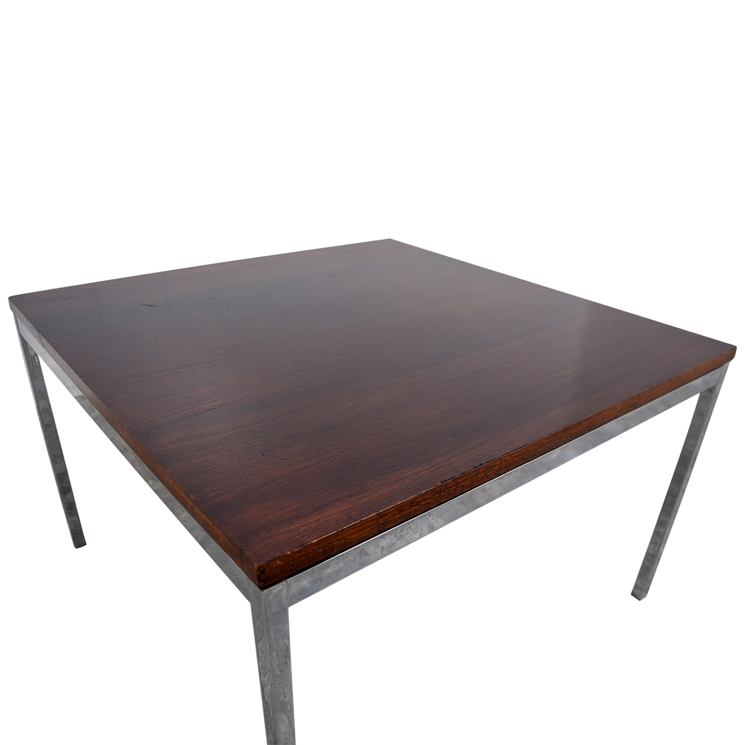 ... Buy Florence Knoll Rosewood And Chrome Coffee Table Florence Knoll  Tables ...