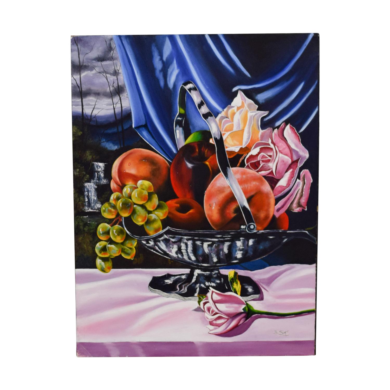 Original Fruit Bowl Painting sale