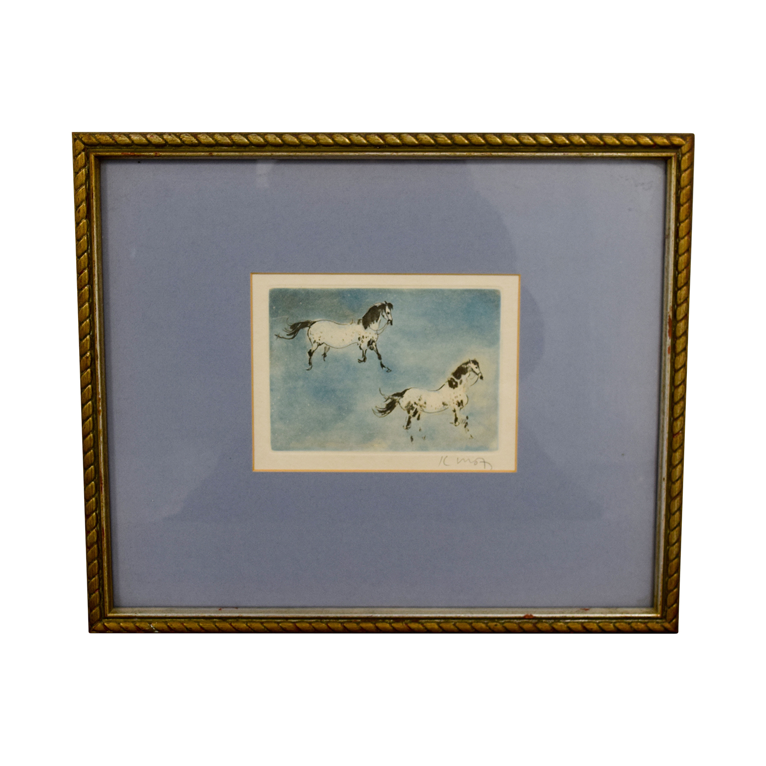 shop Framed Horse Print