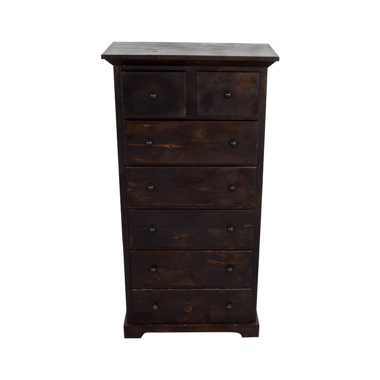 shop Barntiques Barntiques Reclaimed Barnwood Tall Dresser online