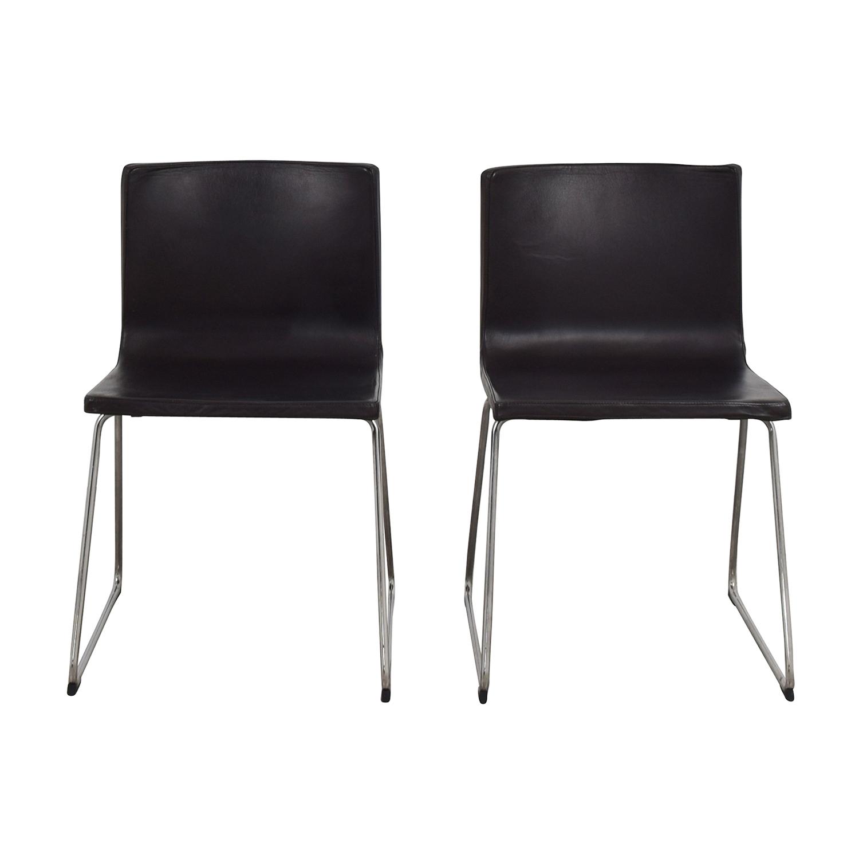 Bon IKEA Black Accent Chairs / Chairs