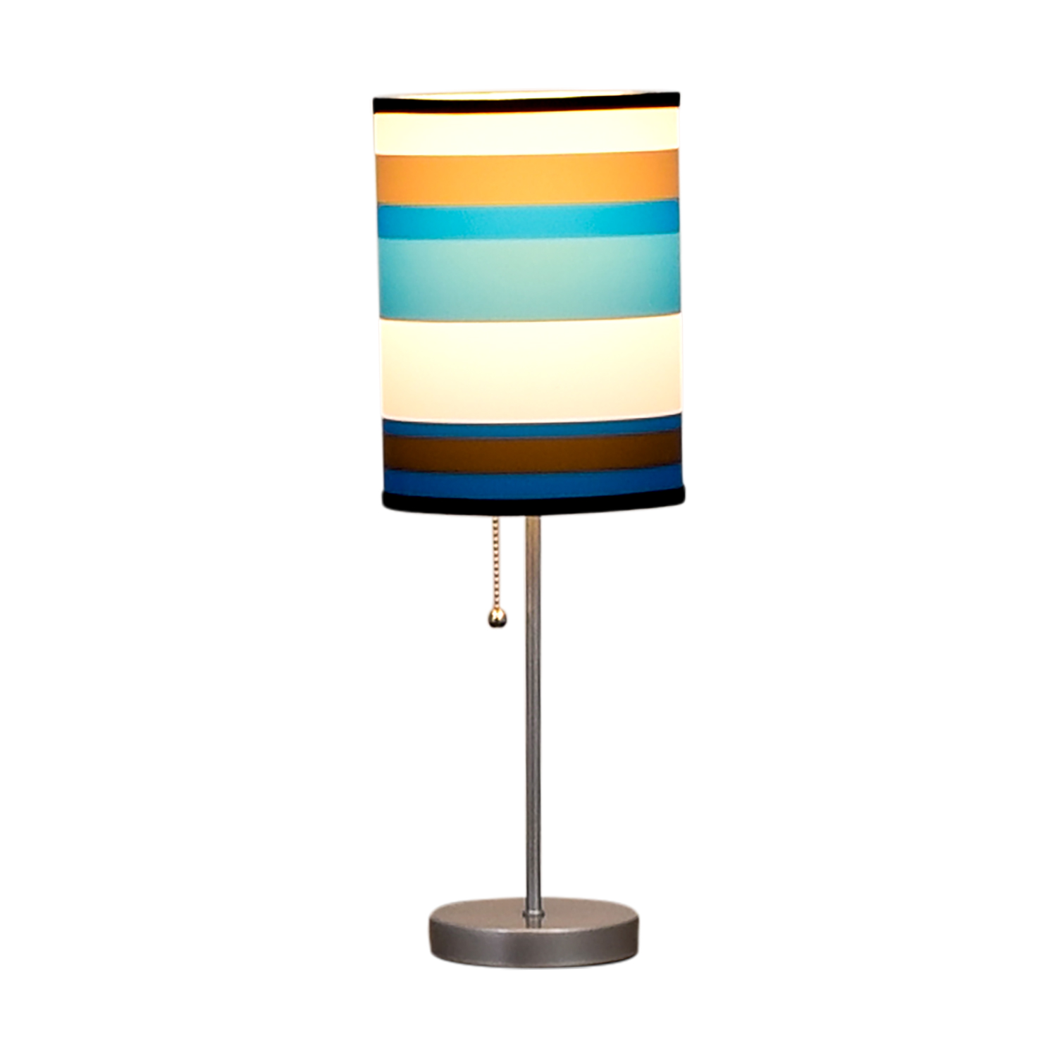 Striped Table Lamp for sale