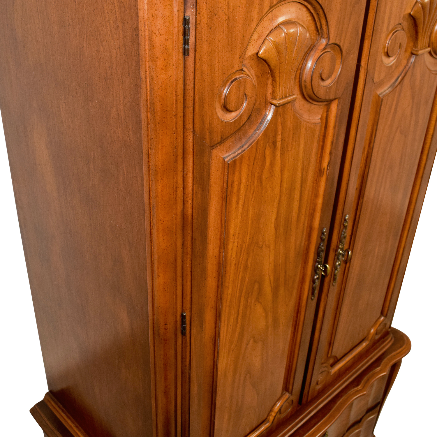 90% OFF - Wood Armoire with Drawers / Storage
