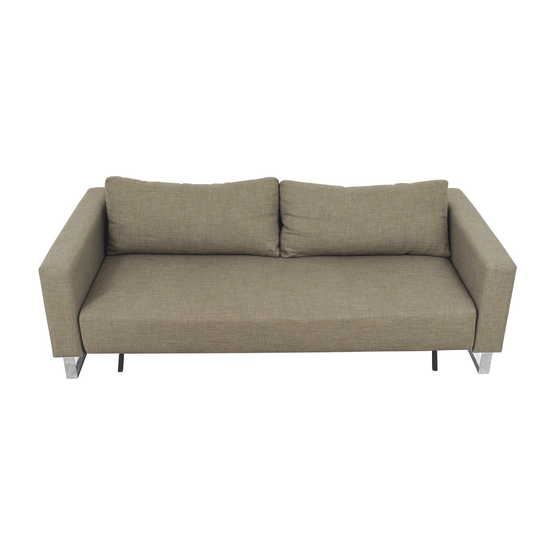 buy Supremax DEL Supremax DEL Grey Sofa Bed online