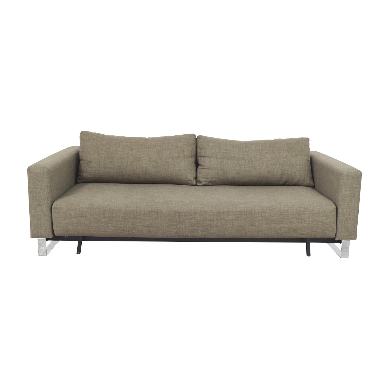 shop Supremax DEL Grey Sofa Bed Supremax DEL