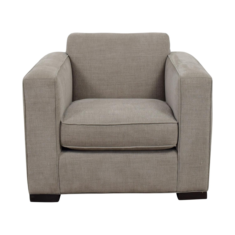 Room & Board Room & Board Grey Armchair for sale