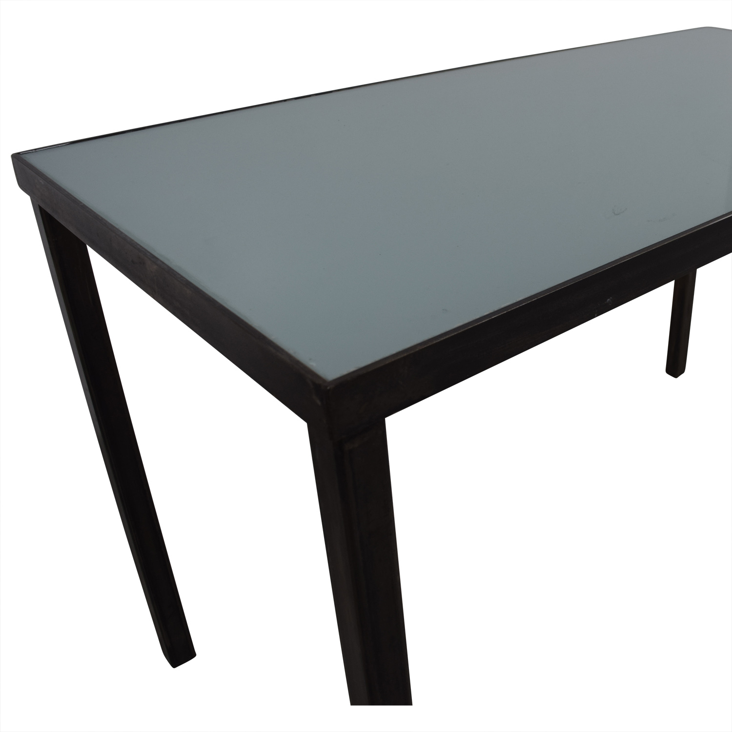 shop West Elm Glass Top Office Desk West Elm