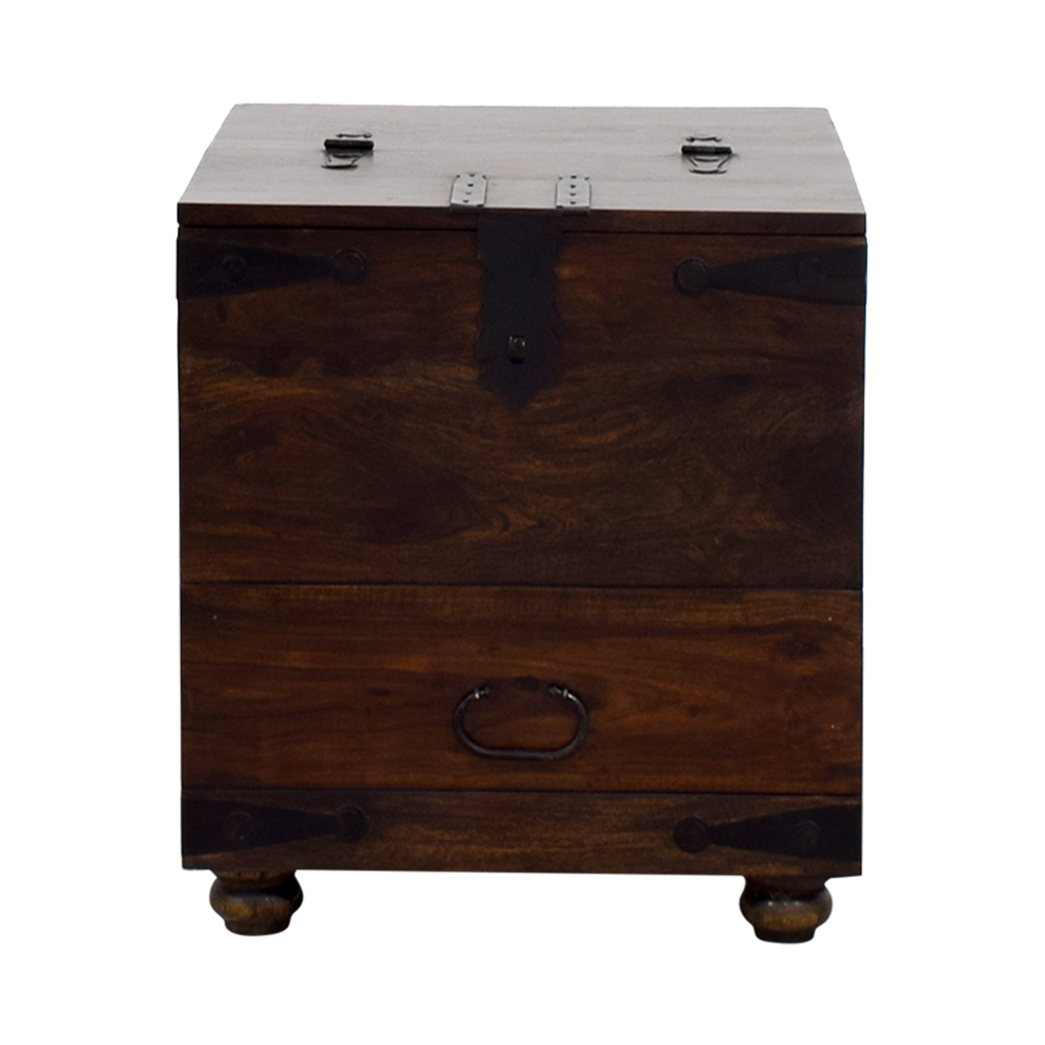 Crate U0026 Barrel Crate U0026 Barrel Wooden Side Table ...