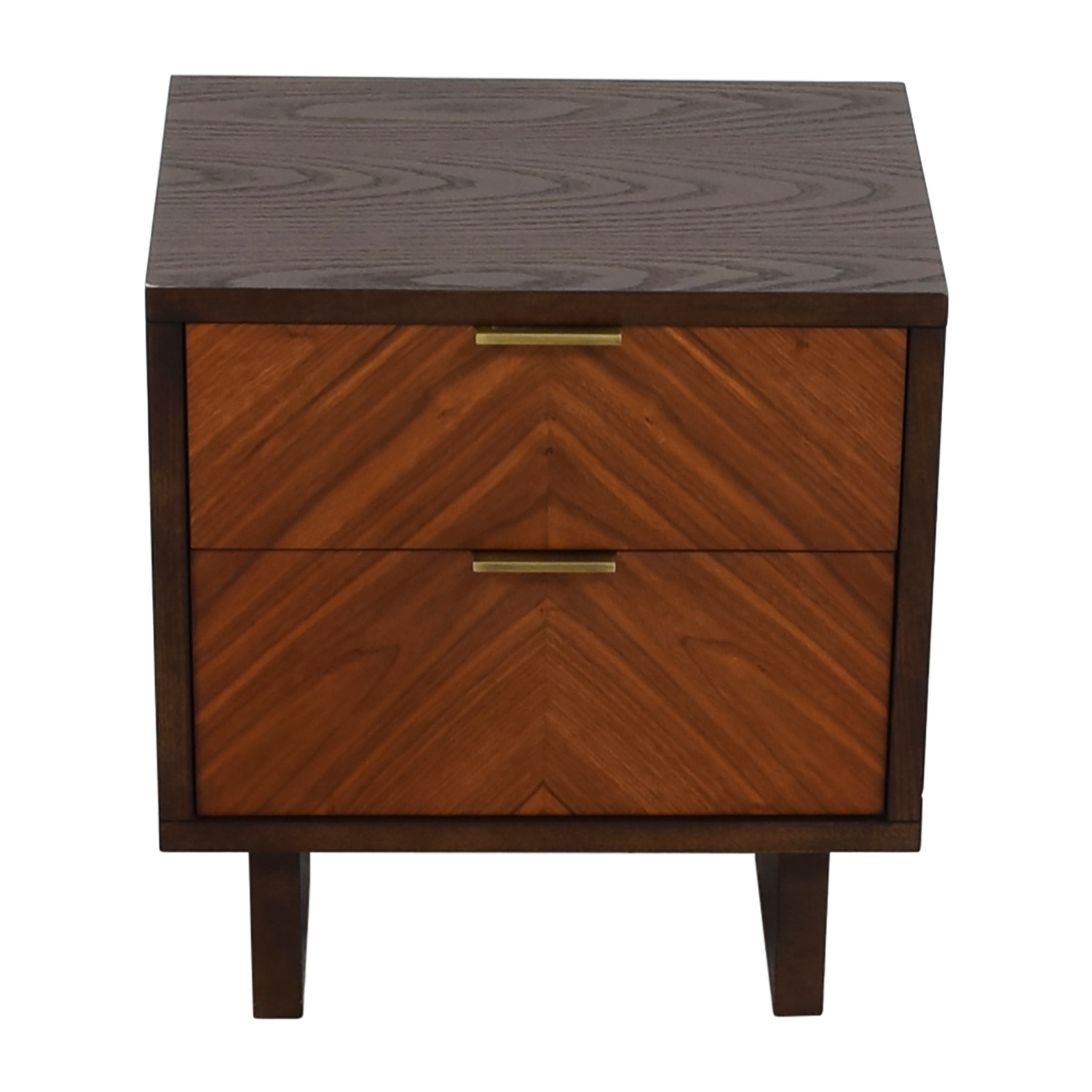 West Elm West Elm Chevron Nightstand used