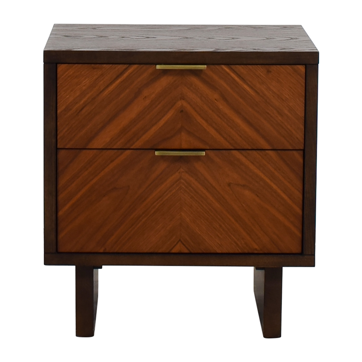 buy West Elm West Elm Chevron Nightstand online