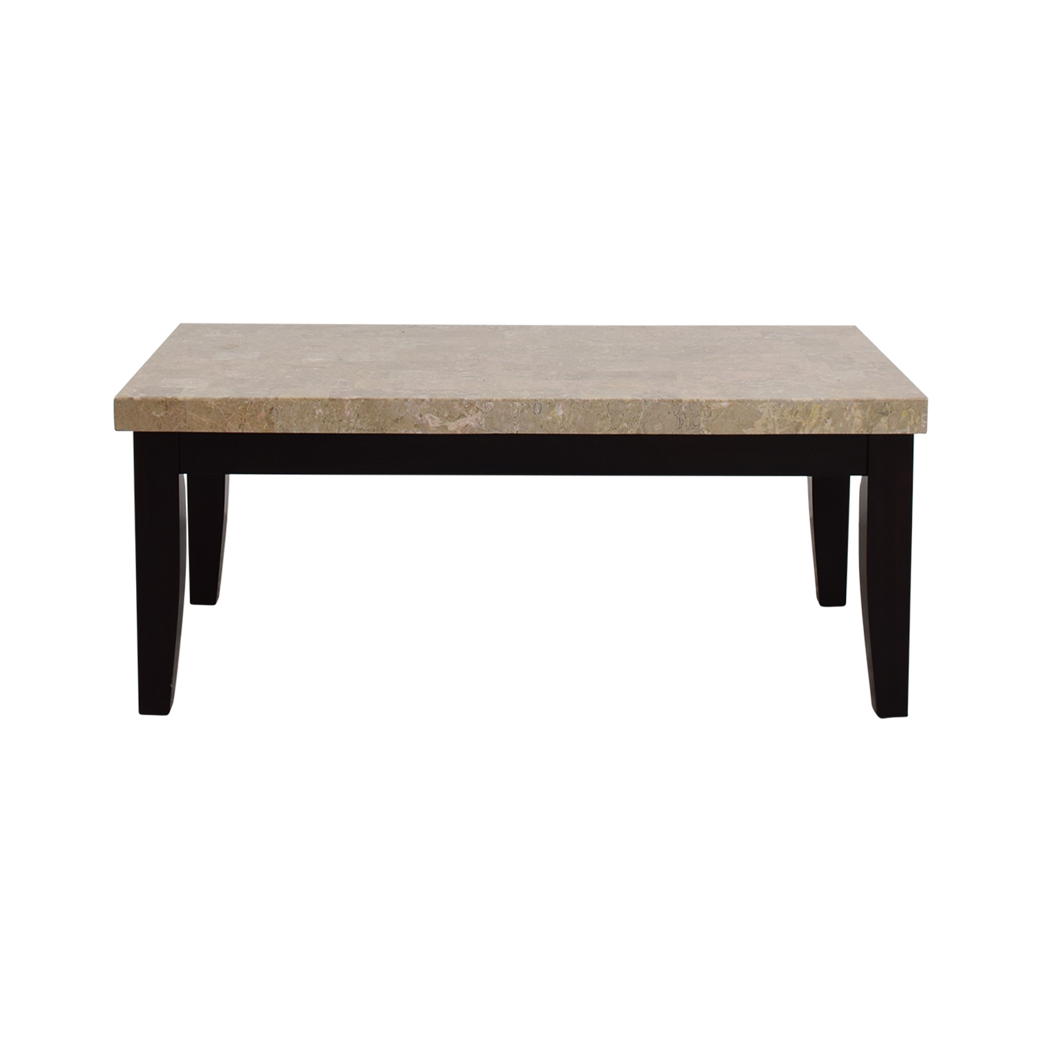 Shop Bobs Furniture Faux Marble Coffee Table Bobs Furniture Coffee Tables  ...