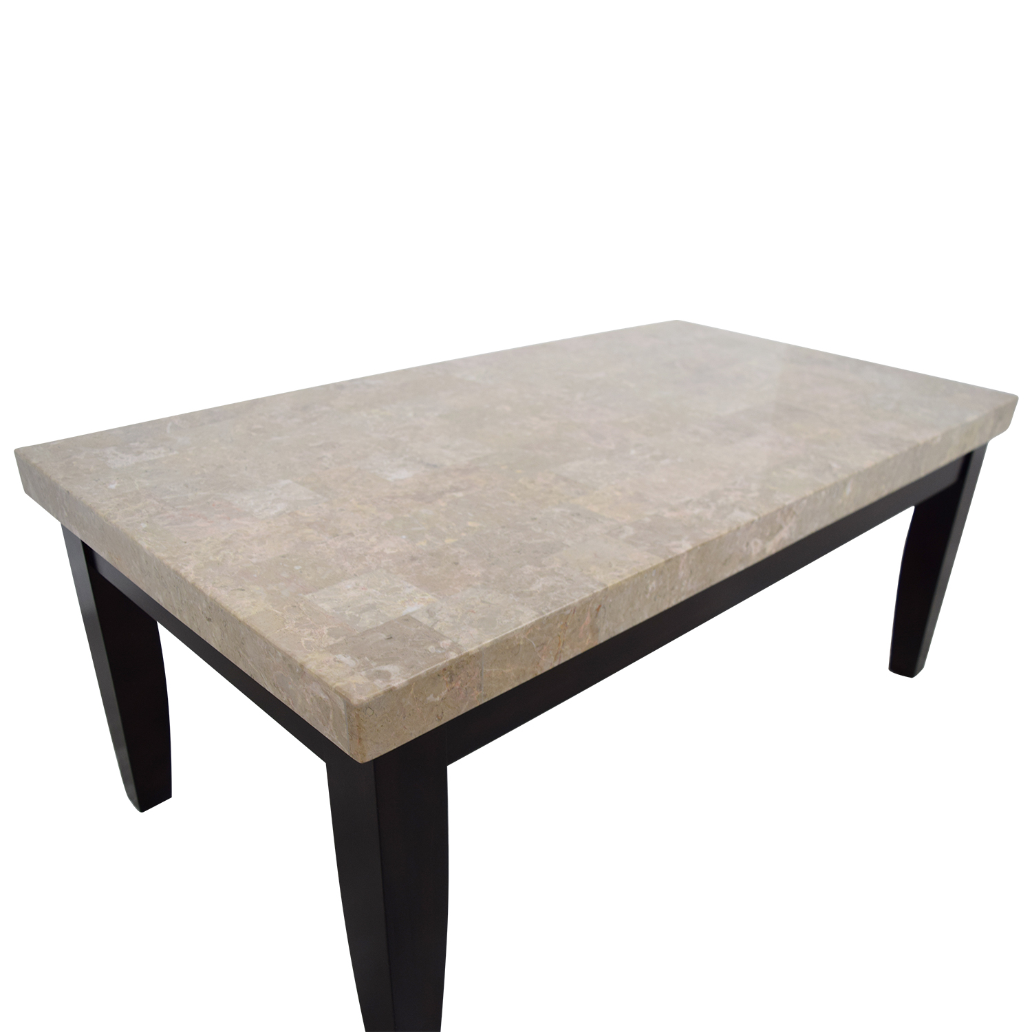Bobs Furniture Faux Marble Coffee Table Nyc
