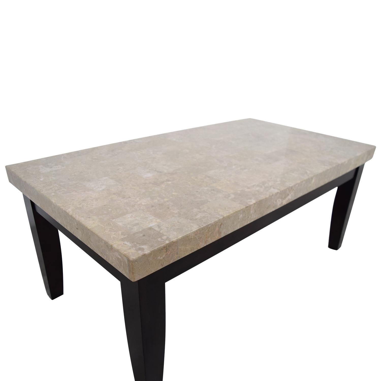 OFF Bob s Furniture Bob s Furniture Faux Marble Coffee Table
