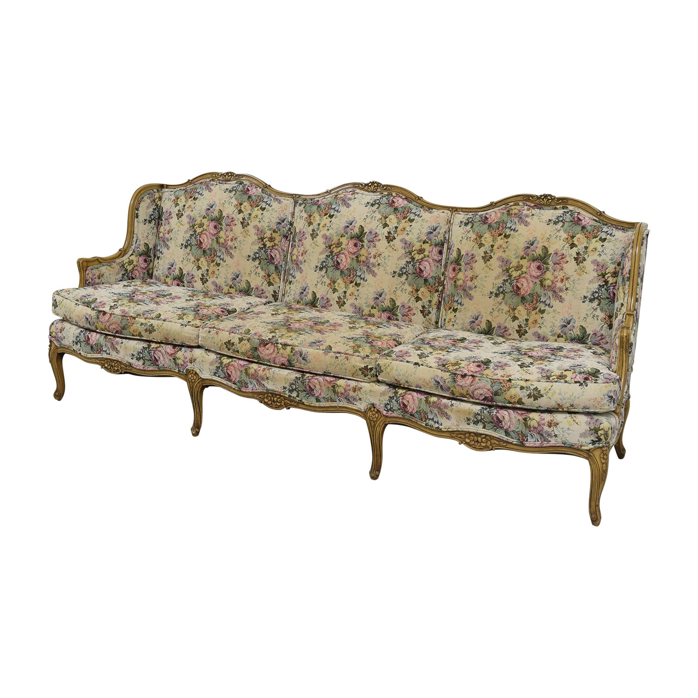 blue loveseat sofa and seat klintbo cover loveseats floral sofas ektorp ikea