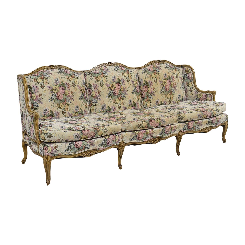 87 Off Vintage Floral Sofa Sofas