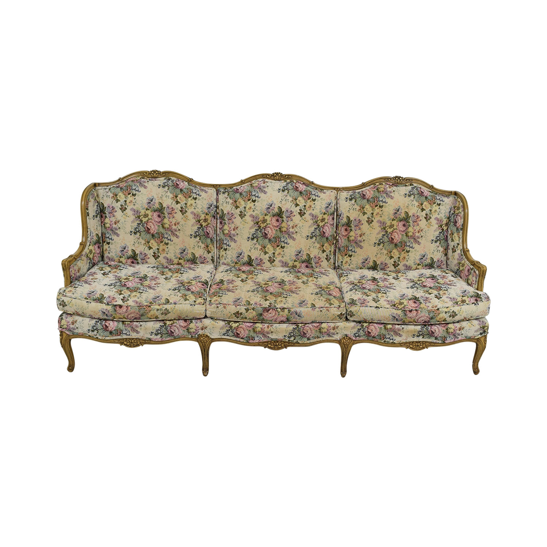 87 Off Vintage Fl Sofa Sofas