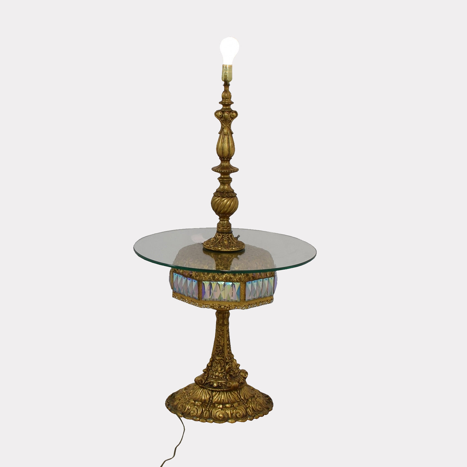 Vintage Gold Table Lamp Decor