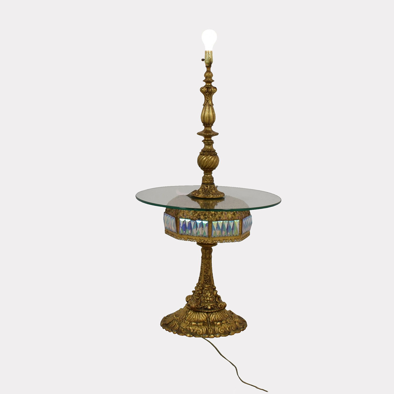 buy Vintage Gold Table Lamp online