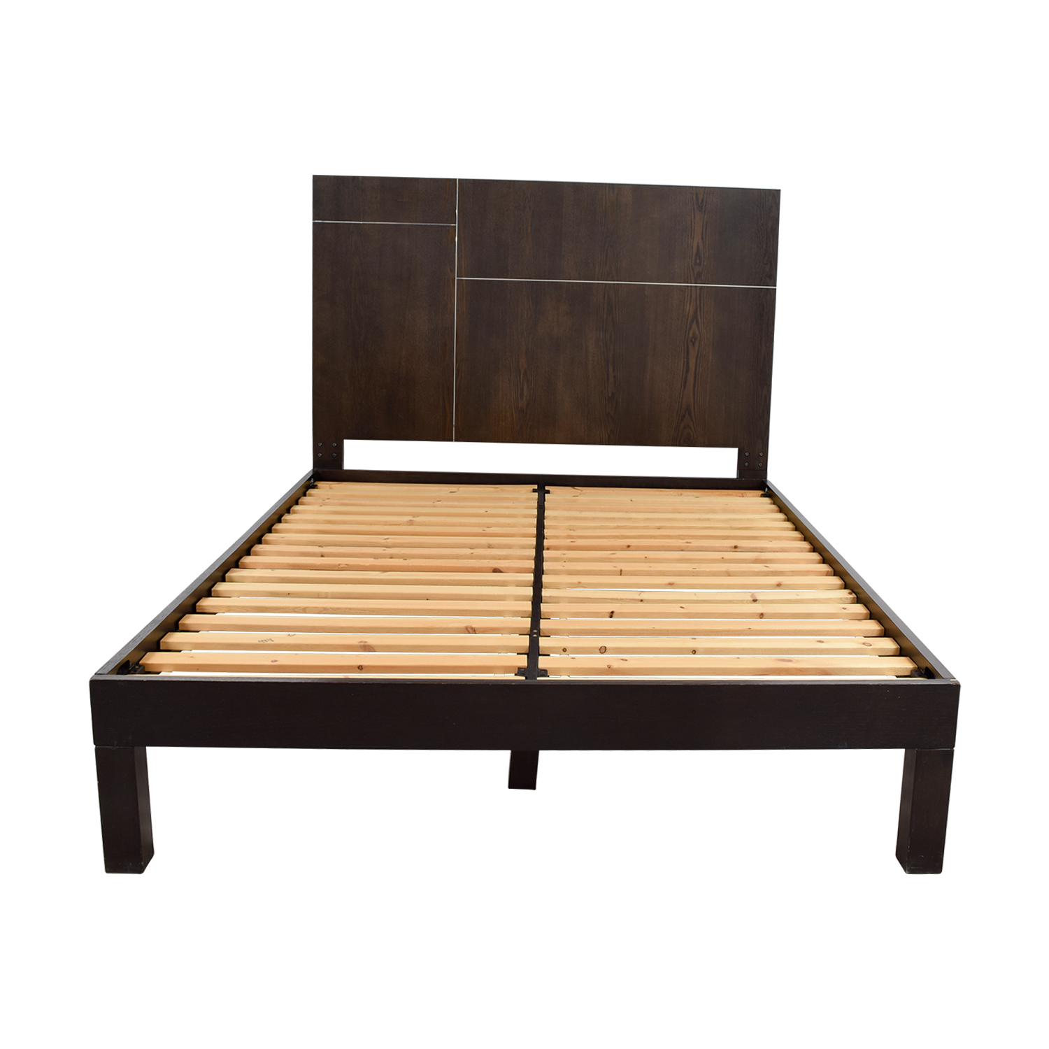 West Elm West Elm Wood Platform Queen Bed Frame on sale