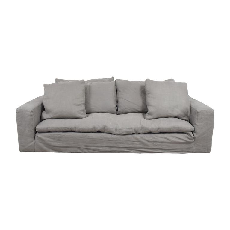 Restoration Hardware Grey Cloud Sofa Restoration Hardware