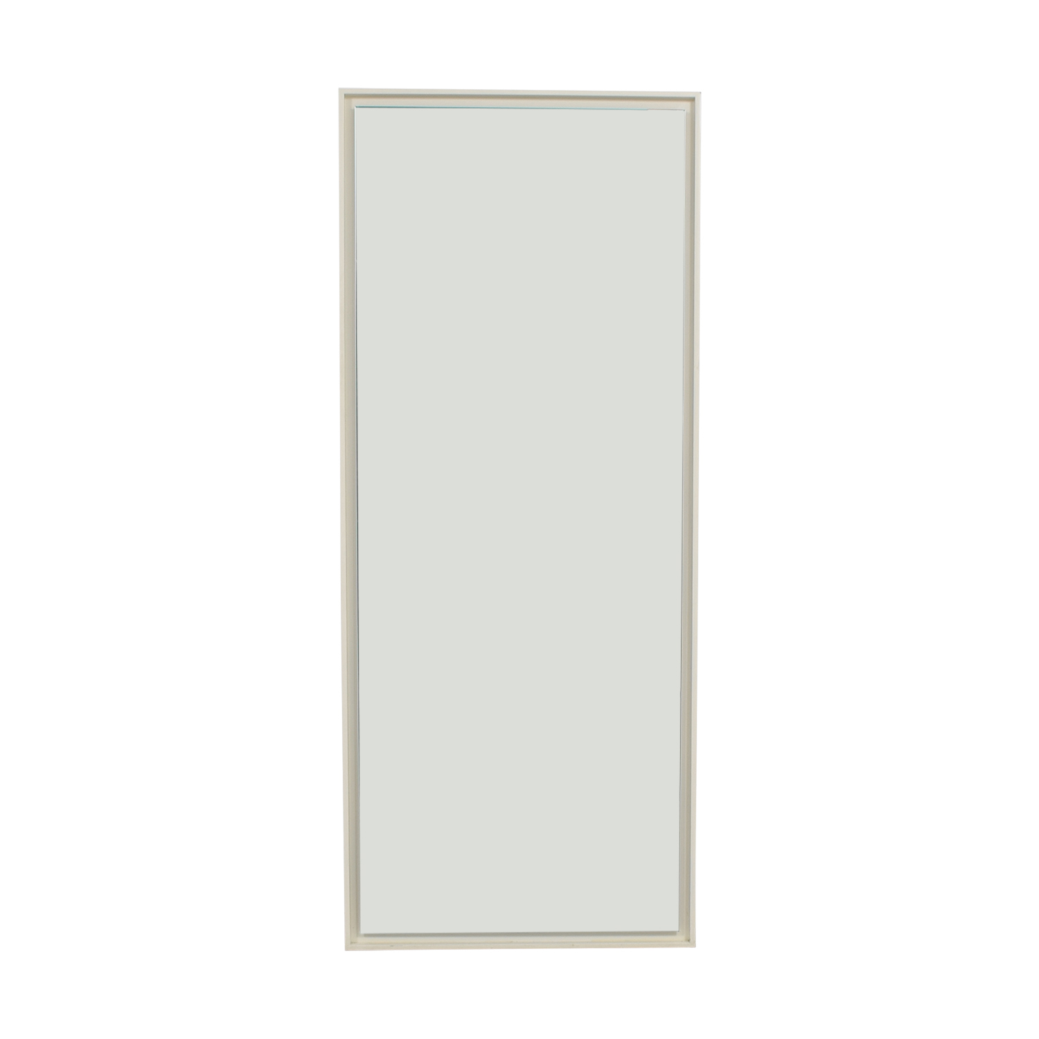 Crate & Barrel Crate & Barrel White Wall Mirror Mirrors