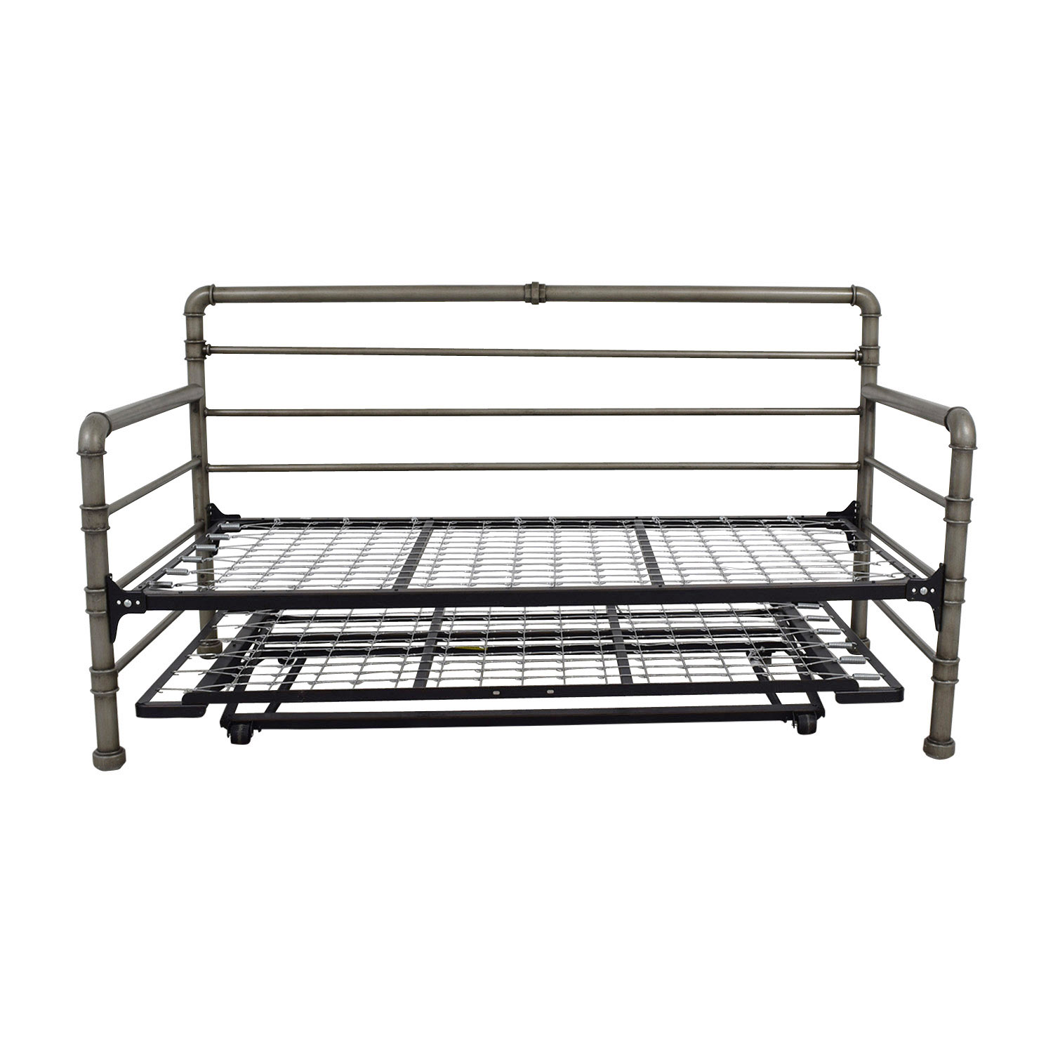 buy Belham Living Belham Living Emerson Black Pipe Daybed with Pop-up Trundle online