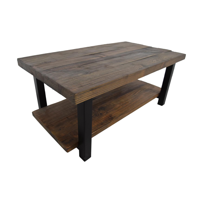 Outstanding 72 Off Loon Peak Loon Peak Somers Wood And Metal Coffee Table Tables Ibusinesslaw Wood Chair Design Ideas Ibusinesslaworg