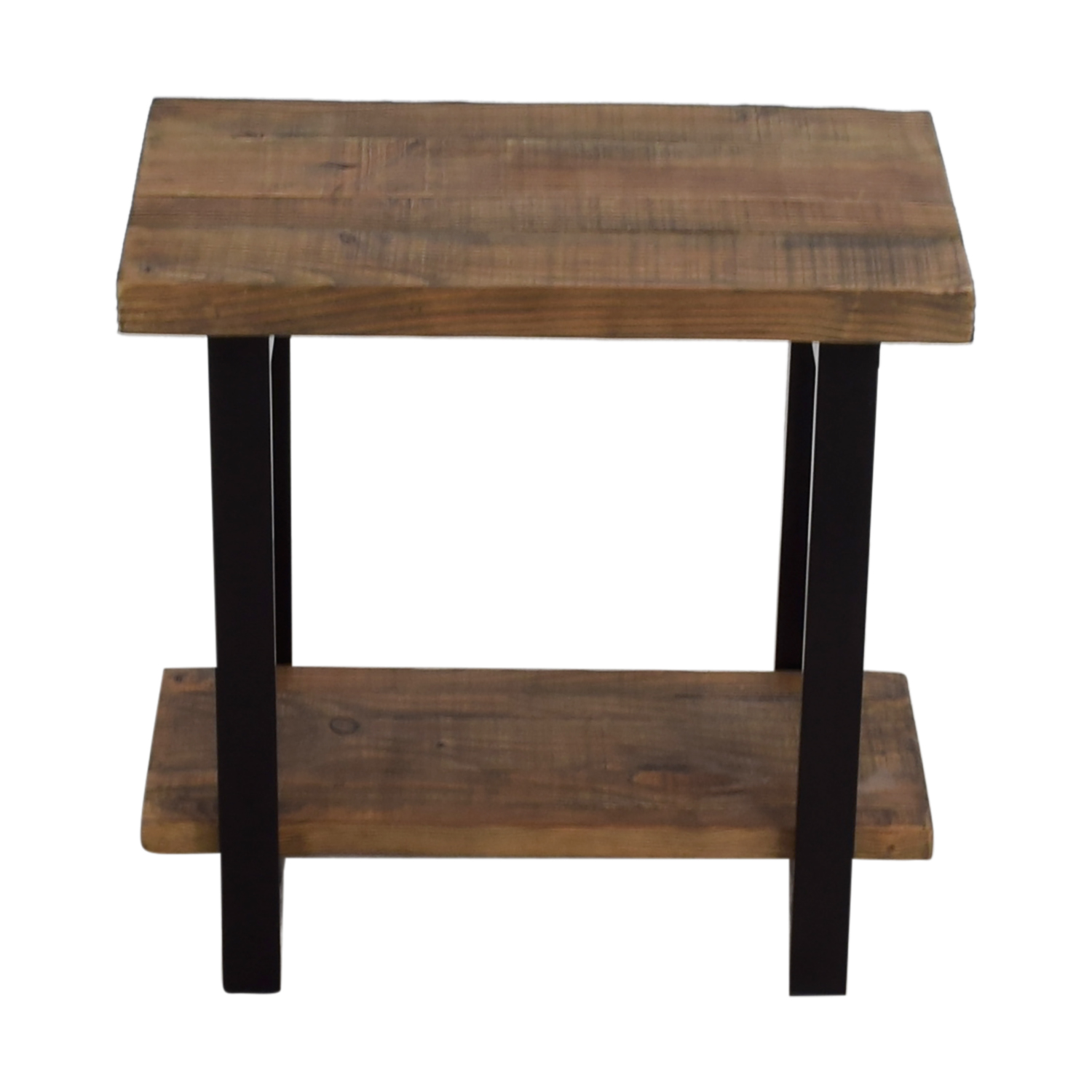 Loon Peak Loon Peak Somers Wood and Metal End Table Tables