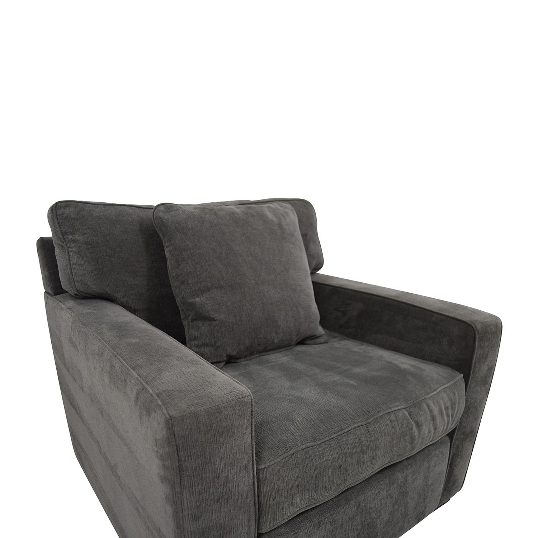 90 OFF Macys Macys Radley Grey Accent Chair Chairs
