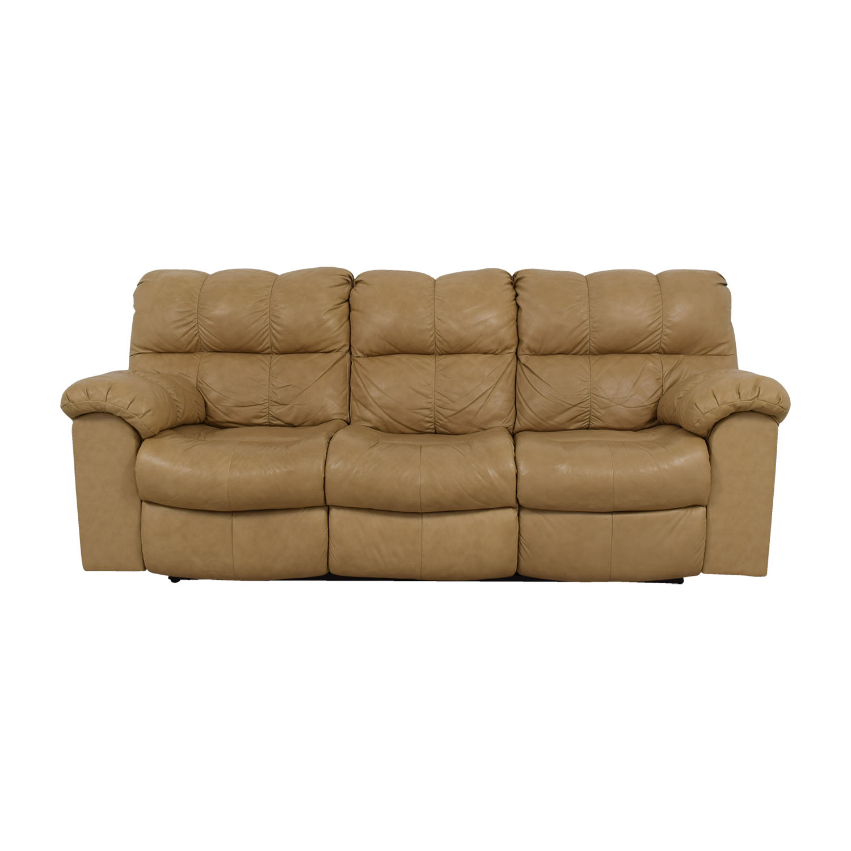 84% OFF - Ashley Furniture Ashley Signature Design Leather Sofa / Sofas