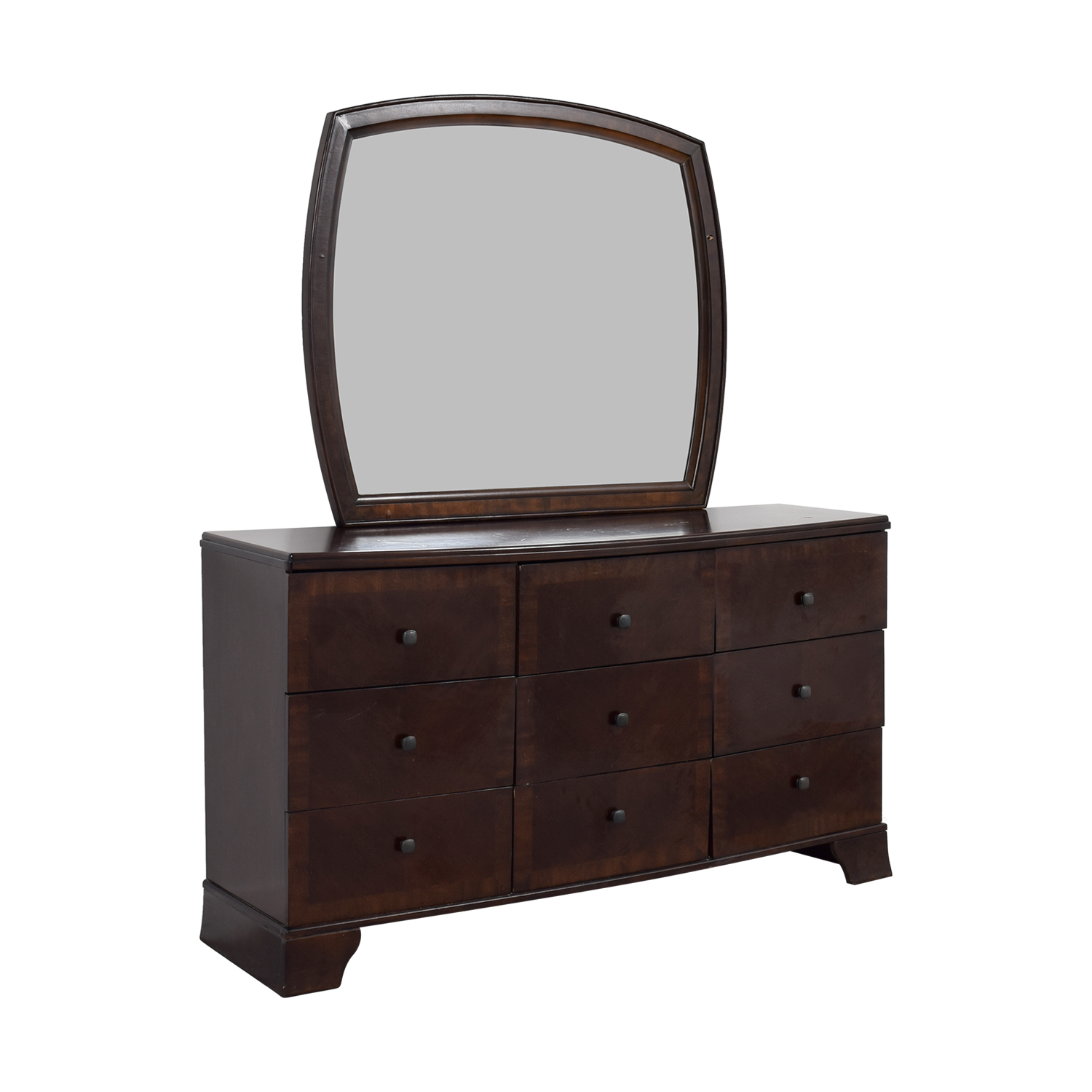 Ashley Furniture Ashley Furniture Six-Drawer Dresser with Mirror price