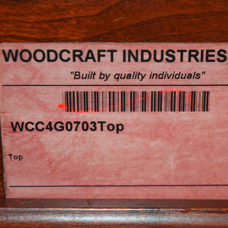 Woodcraft Woodcraft Custom Cherry Executive Desk coupon