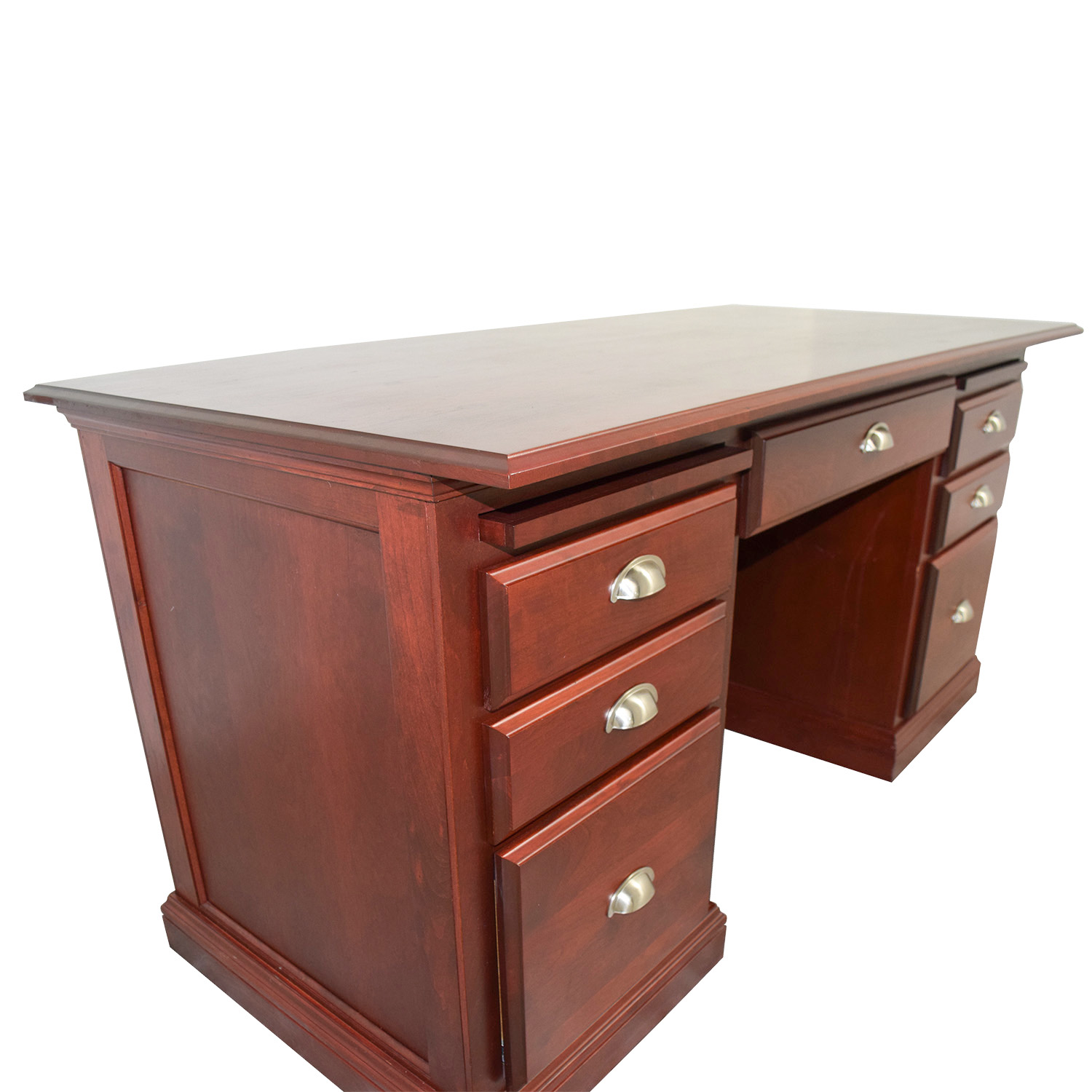 custom home office furniture. Cherry Custom Home Office Desk. Woodcraft Executive Desk On Sale H Furniture U