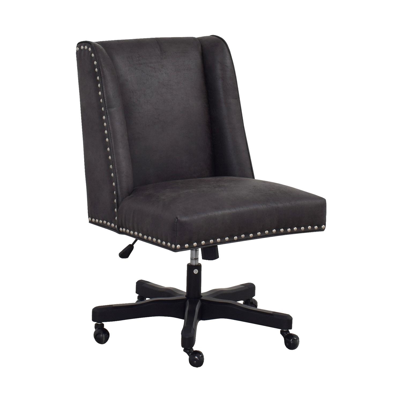 49 off wayfair wayfair grey executive chair chairs