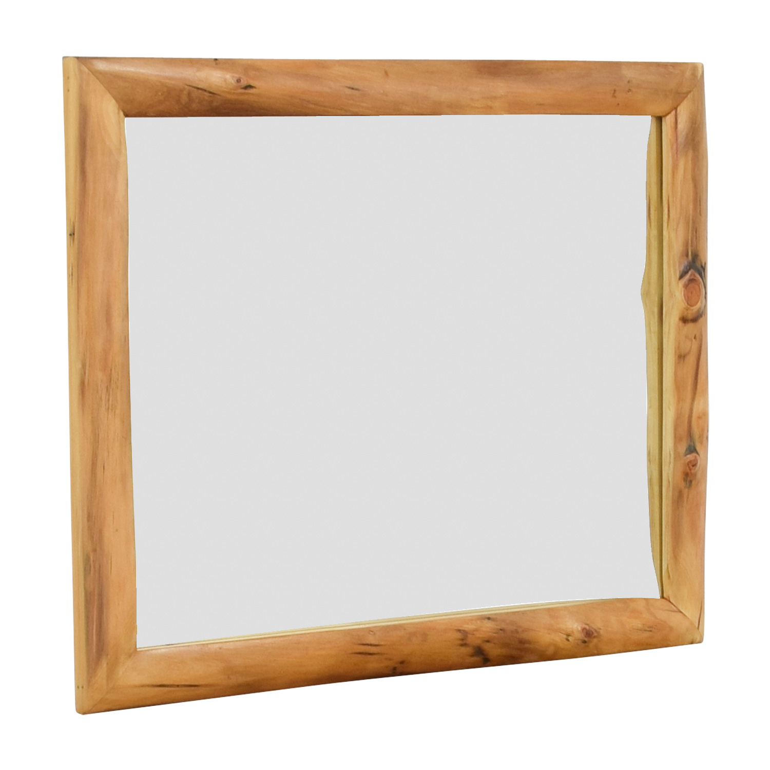 Natural Wood Mirror second hand