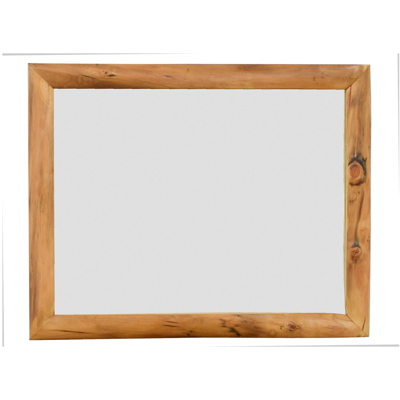 Natural Wood Mirror dimensions