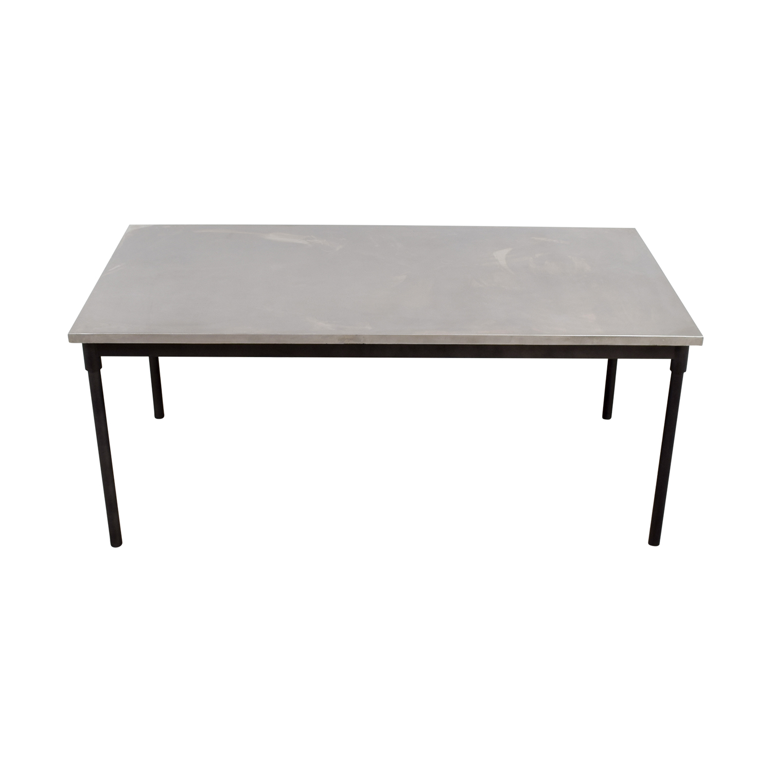 West Elm West Elm Stainless Steel Table Sliver