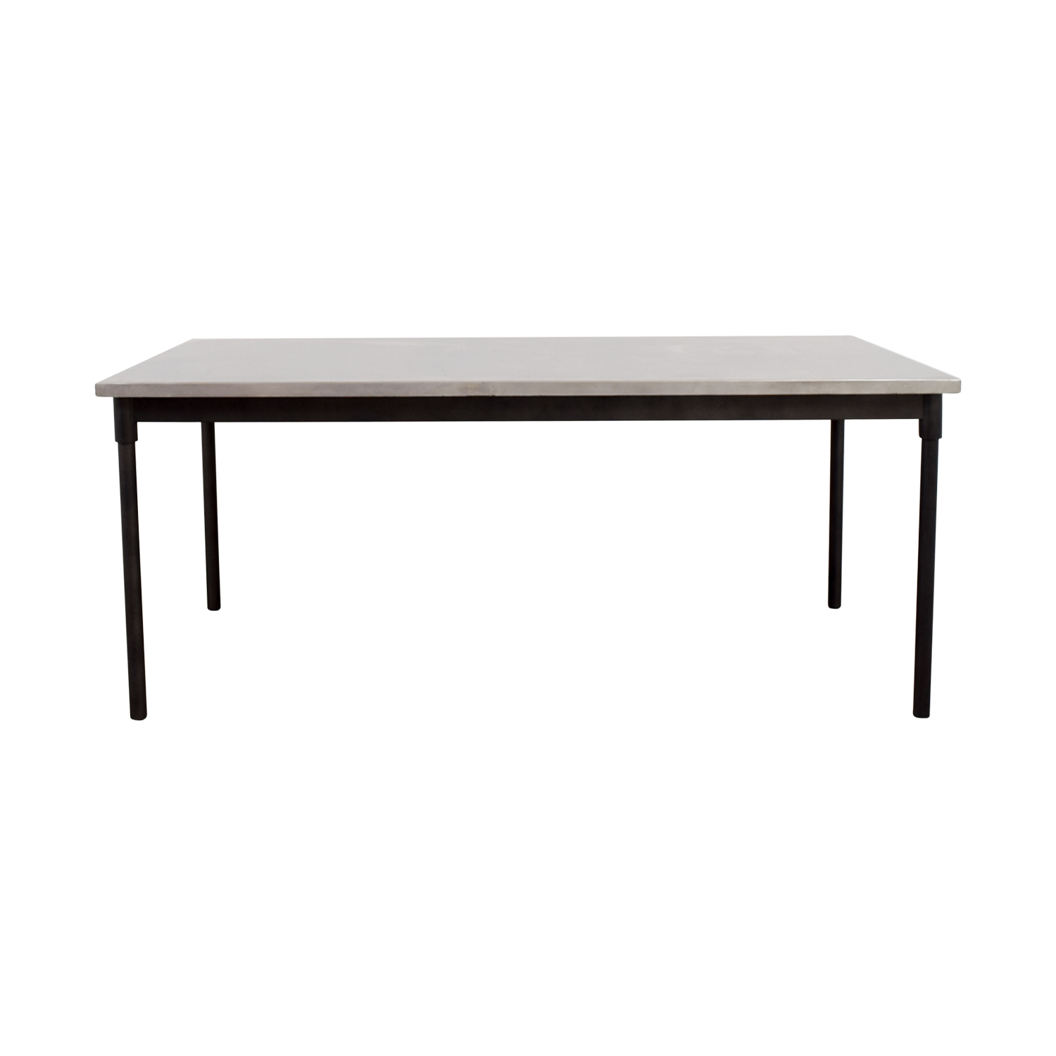 West Elm West Elm Stainless Steel Table on sale