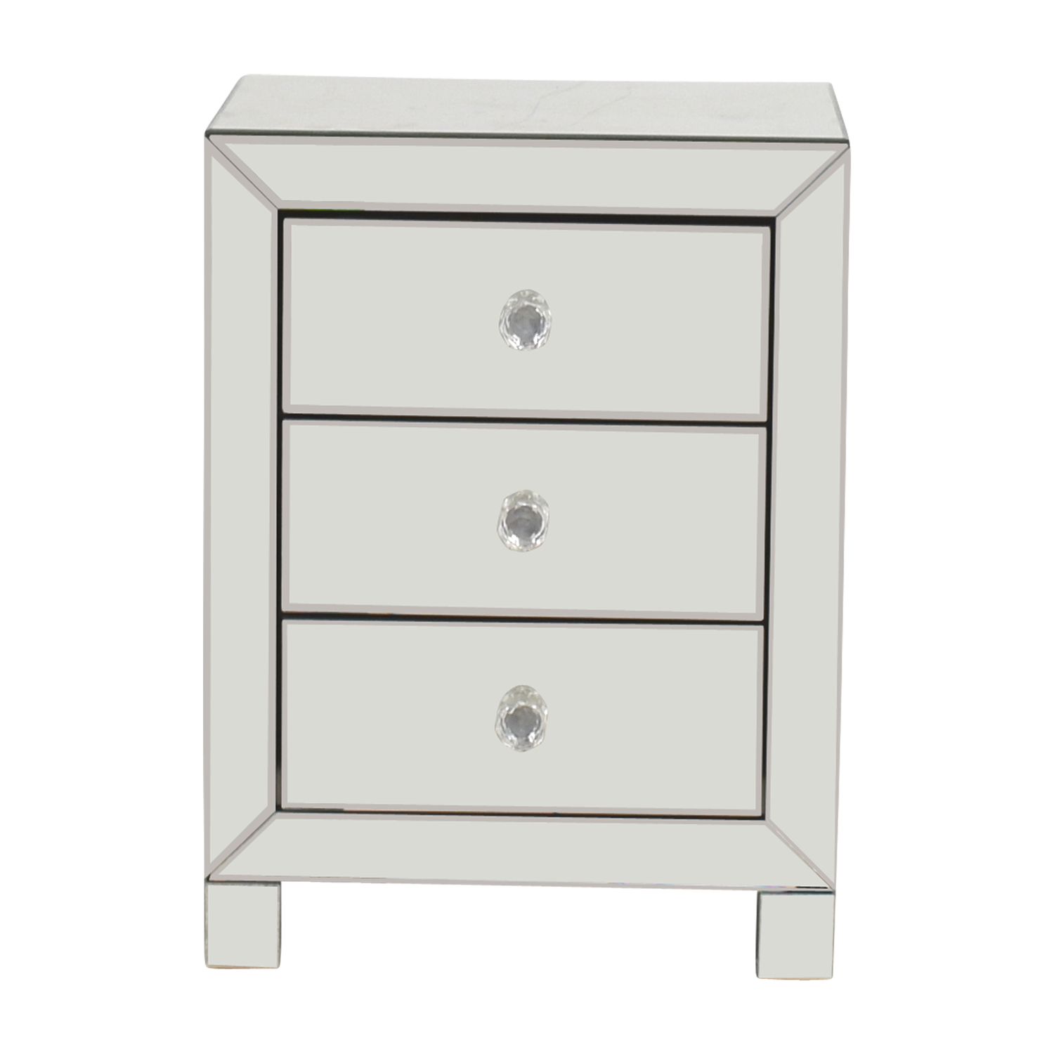 Buy Target Three Drawer Mirrored Nightstand Target End Tables ...