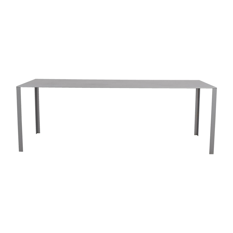Jean Nouvel Grey Less Less Table Jean Nouvel
