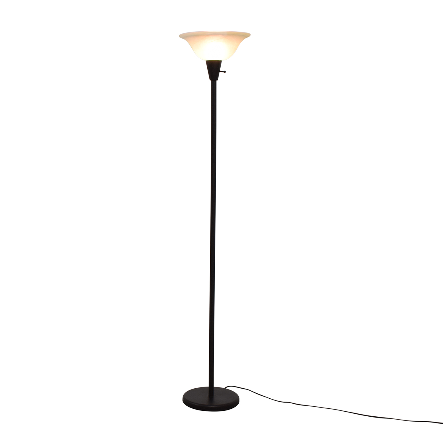 at lamps rubbed bronze way floor glass lamp fans shades shade shop ceiling lighting oil torchiere pl portfolio com in with lowes