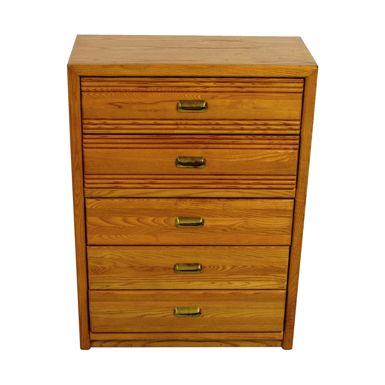 Stanley Furniture Five-Drawer Oak Dresser sale