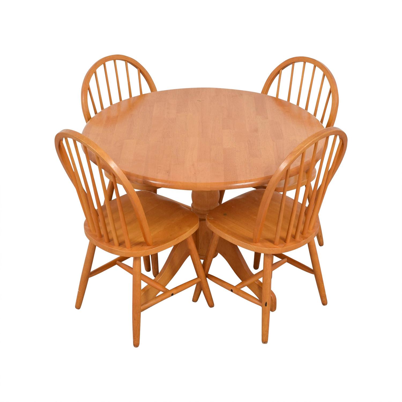 Classic Round Dining Set used