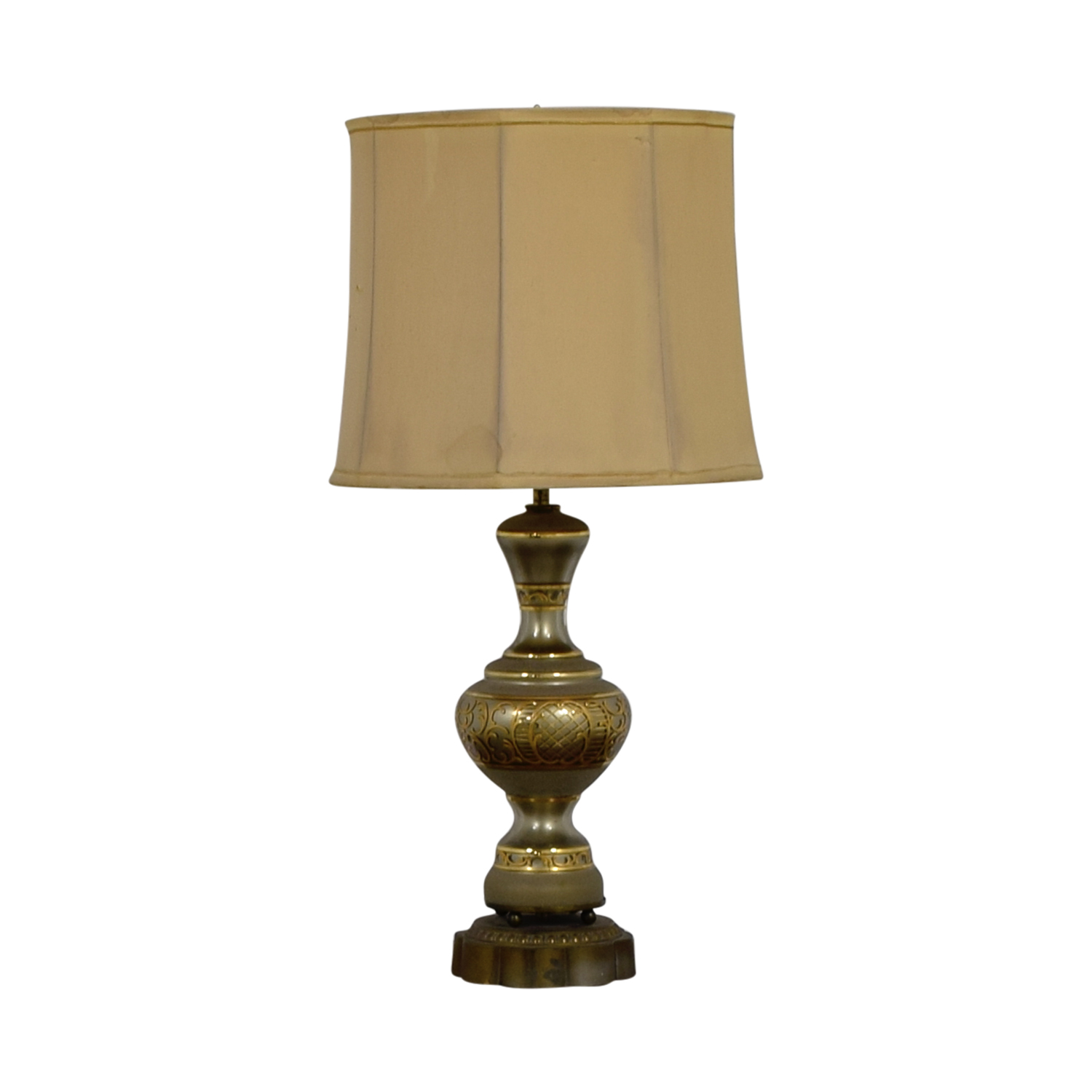 buy Mid Century Vintage Gold Table Lamp online