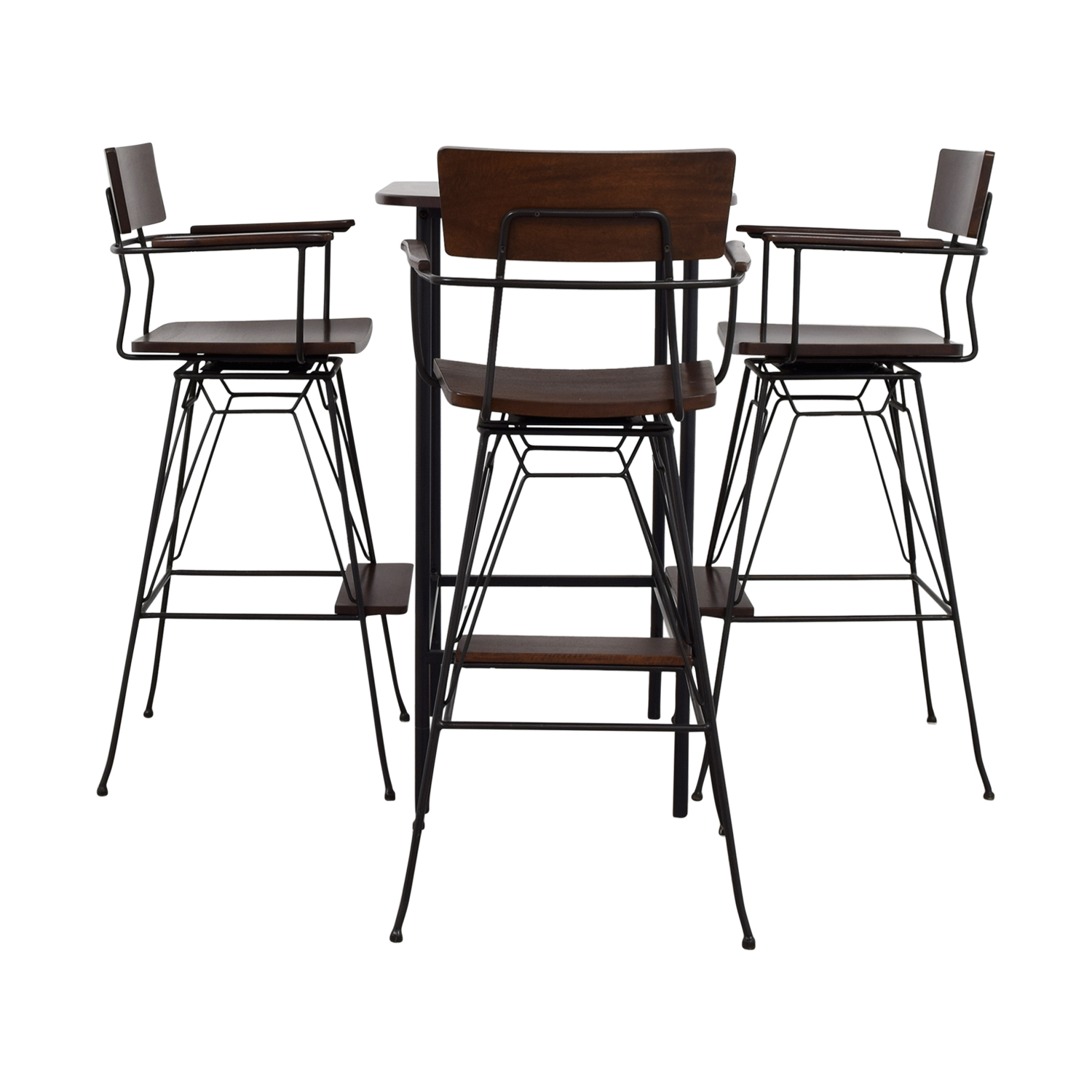 Crate & Barrel Crate & Barrel Pub Dining Set for sale