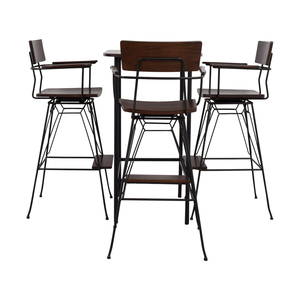 Crate & Barrel Crate & Barrel Pub Dining Set coupon